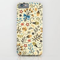 iPhone & iPod Case featuring Floral Bloom by Anna Deegan