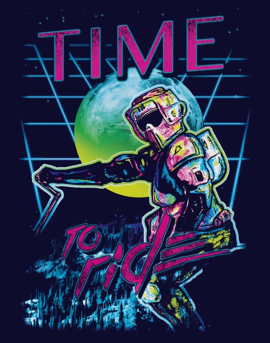 TIME to ride Art Print