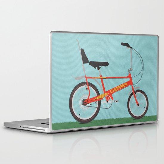 Chopper Bike Laptop & iPad Skin