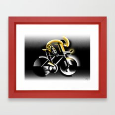 Time Trial Framed Art Print