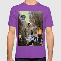 Dancing Cave Mens Fitted Tee Ultraviolet SMALL