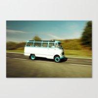 Mercedes Bus Oltimer O 319 Canvas Print