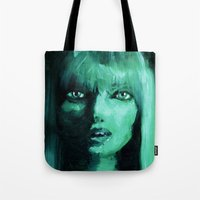 THE GREEN QUICK PORTRAIT Tote Bag