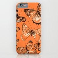 iPhone & iPod Case featuring Coral butterflies by Lauren Peckham