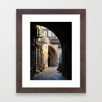 Jaffa Archway Framed Art Print