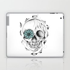 Poetic Wooden Skull Laptop & iPad Skin