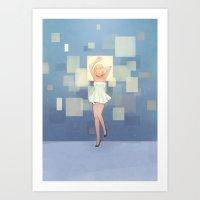 Square Display Art Print
