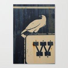 W BIRD Canvas Print
