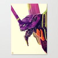 Eva 01 Canvas Print
