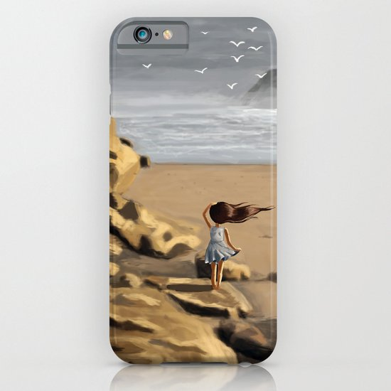 Rocky Beach iPhone & iPod Case