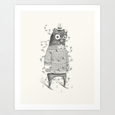 I Was Hoping This May Help Remove The Silence Art Print