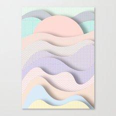 Wave I Canvas Print