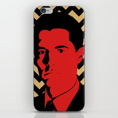Special Agent Dale Cooper iPhone & iPod Skin