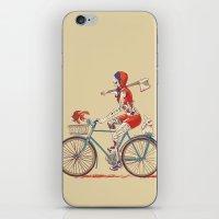 Death Ride iPhone & iPod Skin