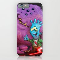 iPhone & iPod Case featuring A boy and his Grogg by Billy Allison