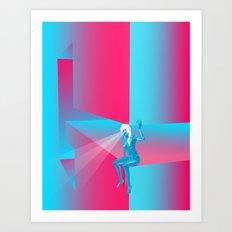 Goddess Gaze - G Zine for Society6 Art Print