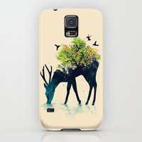 Galaxy S5 Cases featuring Watering (A Life Into Itself) by Budi Kwan