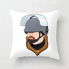 Riot2 Throw Pillow