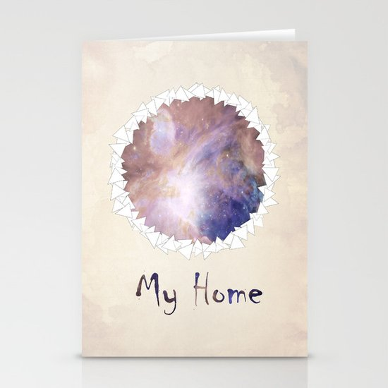 MY HOME Stationery Card