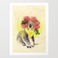 Australian Icon: The Koala Art Print