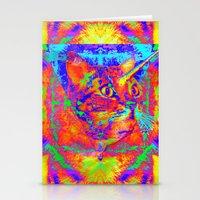Caticorn-Lady Jasmine Stationery Cards