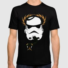Mike McStorm SMALL Black Mens Fitted Tee