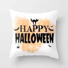 Happy Halloween | Spooky Throw Pillow