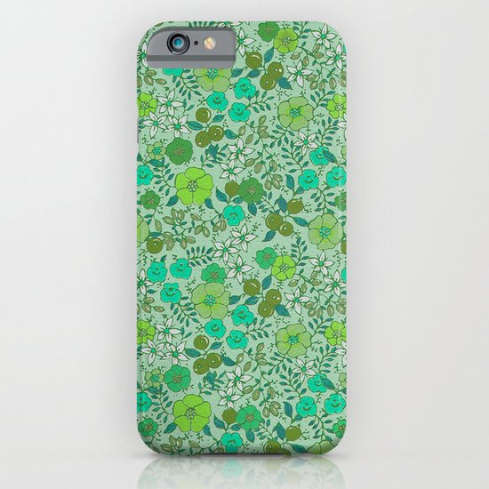 Floral2 iPhone & iPod Case