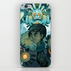 Aztec Gundam iPhone & iPod Skin