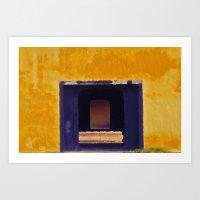 Emperor's Yellow House Art Print
