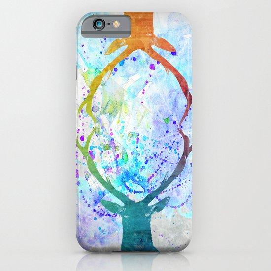 watercolor deer iPhone & iPod Case