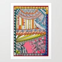 C13 doodle 6 Art Print