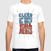 Clear Eyes, Full Hearts.… Mens Fitted Tee White SMALL