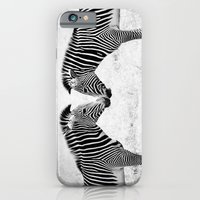 Two Zebras iPhone 6 Slim Case