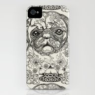 Persian Pug iPhone (4, 4s) Slim Case