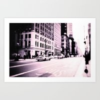 The Streets Of New York Art Print