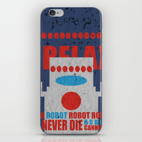 Robots Never Die iPhone & iPod Skin