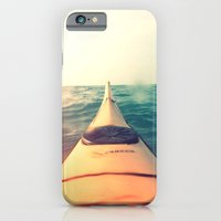 Yellow Kayak In Water Co… iPhone 6 Slim Case
