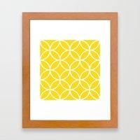 Pattern 2B Framed Art Print