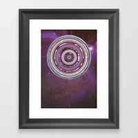 Galactica Framed Art Print