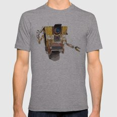 Borderlands Claptrap Watercolour Mens Fitted Tee Athletic Grey SMALL