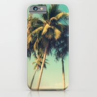 tropical trees in florida iPhone 6 Slim Case
