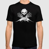 Life's Short, Sail Dead Mens Fitted Tee Black SMALL