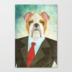 Mr. Woof Canvas Print
