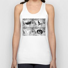 Halloween Pattern 1 Unisex Tank Top