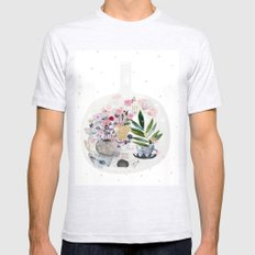 Garden in a bottle Mens Fitted Tee Ash Grey SMALL