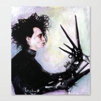 Edward Scissorhands: The… Canvas Print