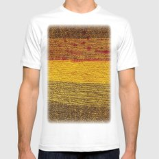 SUNRAY White Mens Fitted Tee SMALL