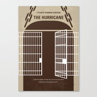 No570 My The Hurricane minimal movie poster Canvas Print