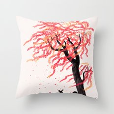 Wind in the Willows Throw Pillow